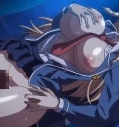 【エロアニメ動画】巨乳のJKしかいない学園で一人を残して全員を洗脳してひたすらヤリまくる