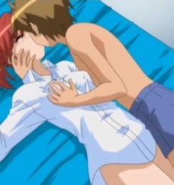 【エロアニメ動画】セックスフレンドが出来てからセックス三昧の男子高校生
