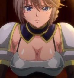 【エロアニメ動画】女騎士が奴隷商人に捕らわれた王女を奪還するために処女を売って情報収集