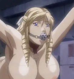 《無修正》【エロアニメ動画】レオナお嬢様が陵辱されて容疑者に復讐の陵辱